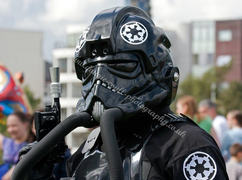 Tie Fighter Pilot - Star Wars - Glasgow Festival