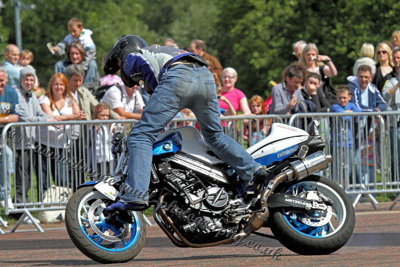 Mattie Griffin - Motorcycle Stunts