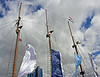 3 Masts & 4 Banners