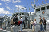 HMS Quorn Hosts Visitors