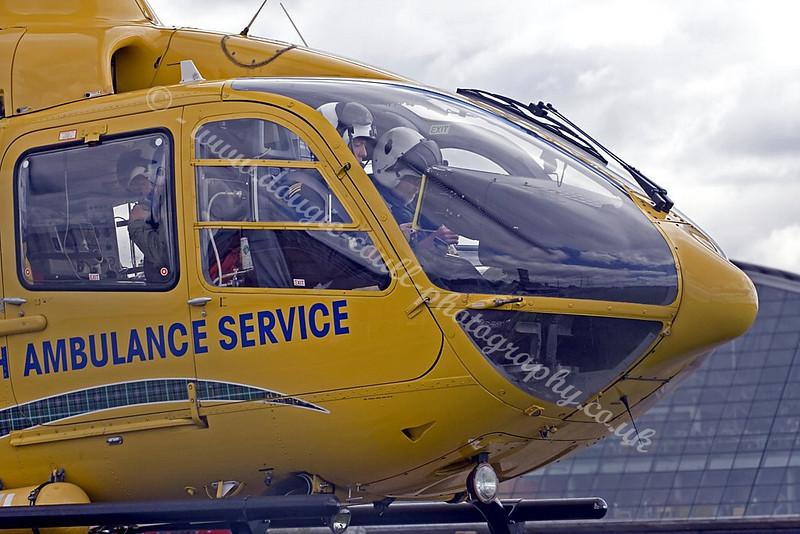 Scottish Ambulance Service Helo