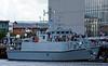 HMS Blyth was kept busy ................