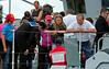 Attentive Visitors to HMS Blyth