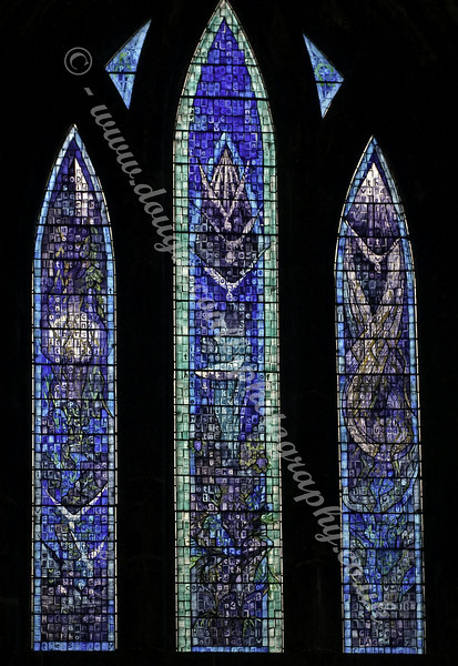 Stained Glass Window - Glasgow Cathedral