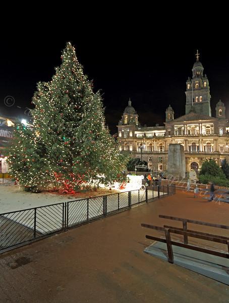 Christmas Lights - George Square - 17 December 2011