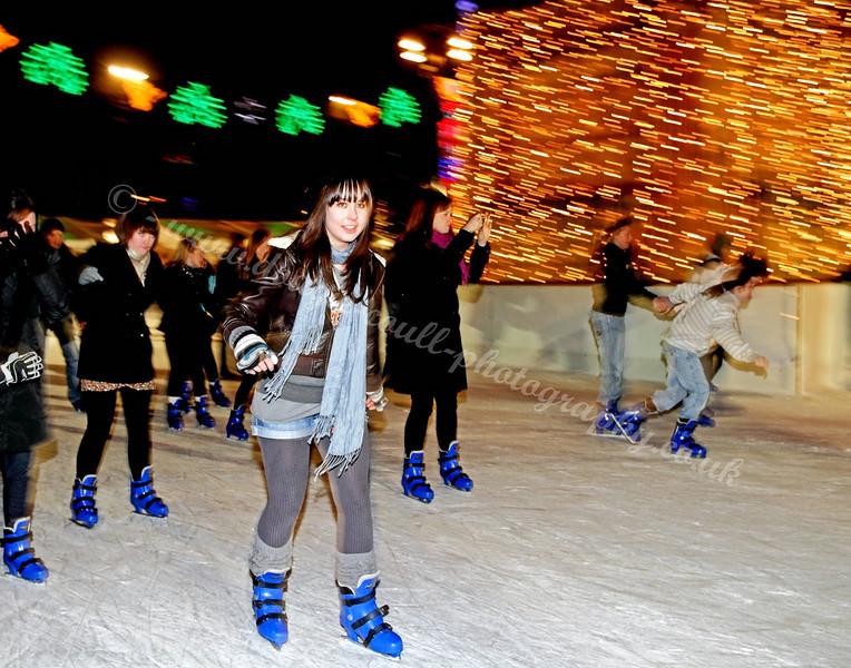 Glasgow Christmas Lights - Ice Skating