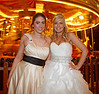 Bride and Bridesmaid - George Square - 29 December 2012