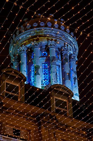 Christmas Lights at the GOMA - 4 January 2014