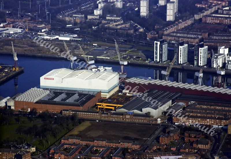 BAE Shipyard - Formerly Fairfields
