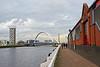 Lancefield Quay Walkway in Glasgow - 12 November 2014