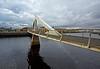 Tradeston Bridge in Glasgow - 12 November 2014
