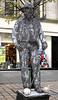 Living Statue - Buchanan Street - 9 October 2011