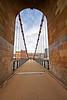 South Portland Street Suspension Bridge - 20 August 2013