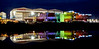 HMS Glasgow Rainbow Display at Govan BAE Yard - 14 May 2021