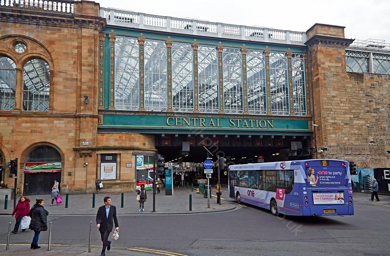 Central Station in Glasgow - 12 November 2014