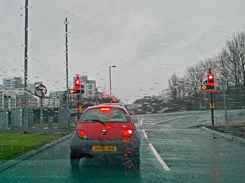 Dreich Weather in Glasgow - 1 January 2015