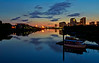 Looking Downriver from the Riverside Museum - 4 August 2014