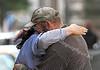 World War Z  Filming - Hugs Before the Shoot - 21 August 2011