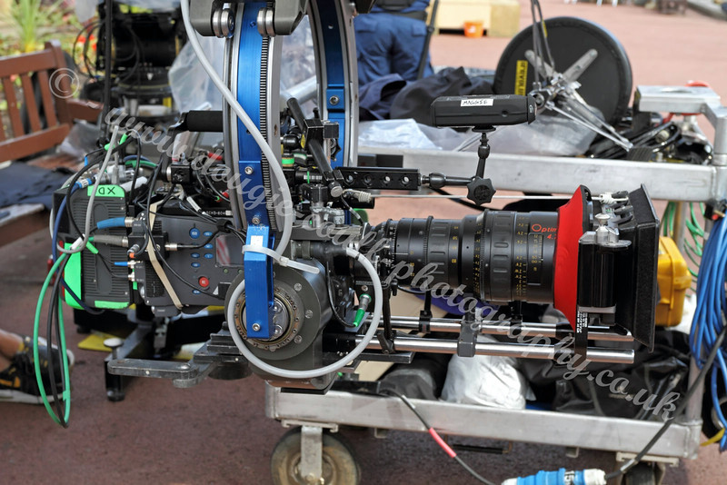 World War Z - Camera Rig - George Square - 25 August 2011