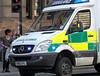 World War Z  Filming - Emergency Ambulance Arrives - 21 August 2011
