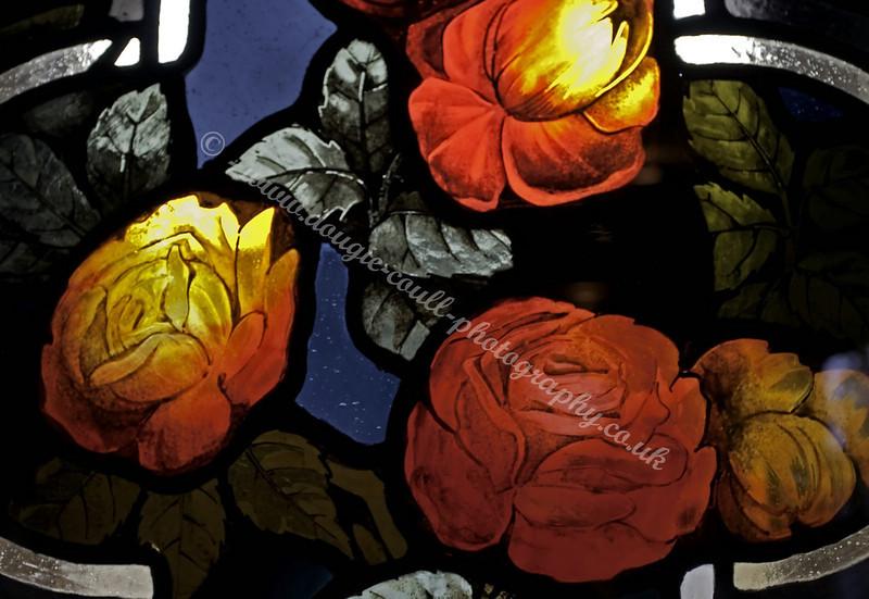 Stain Glass window - Glasgow Museum of Religion