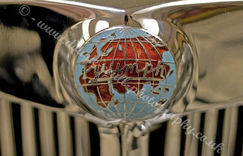 Triumph Car Badge