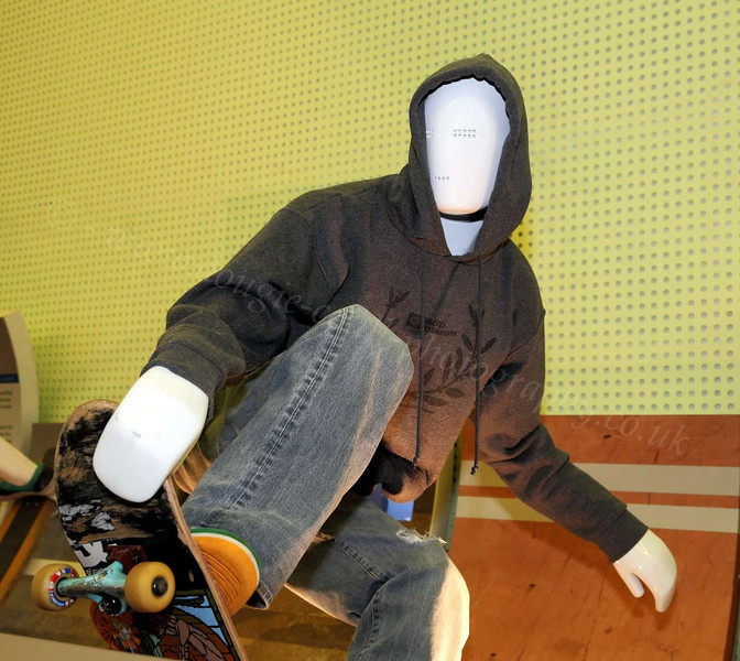 Skateboarder - Riverside Museum - 17 June 2012