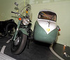 Motorcycle and Sidecar - Riverside Museum - 25 November 2011