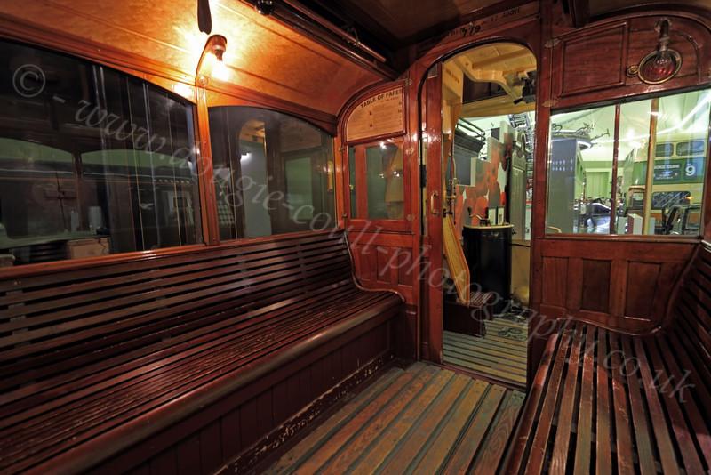 Tram Interior - Riverside Museum - 25 November 2011