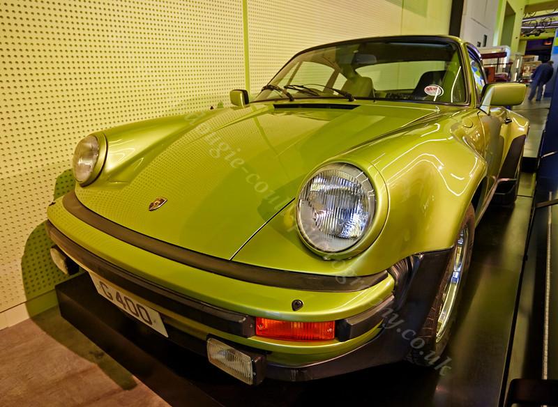 Porsche Exhibit - Riverside Museum - 13 October 2013