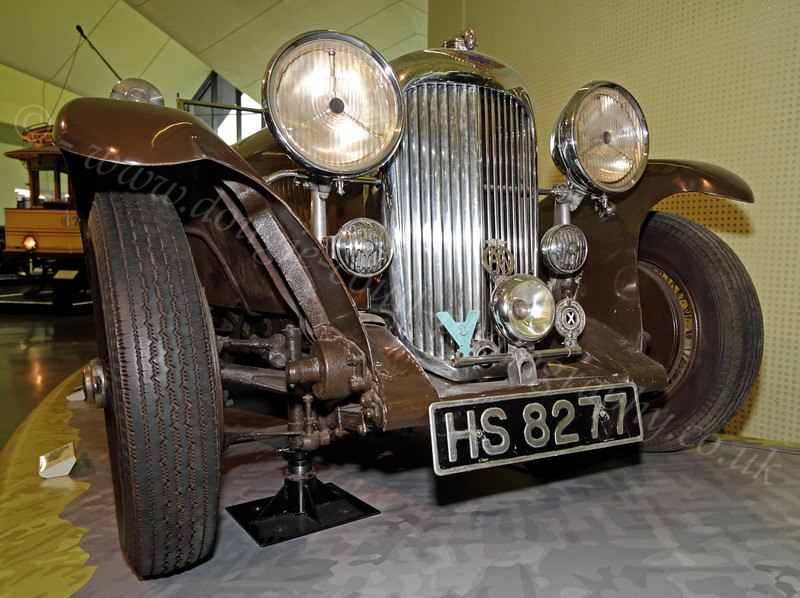 Vintage Car - Riverside Museum - 25 November 2011