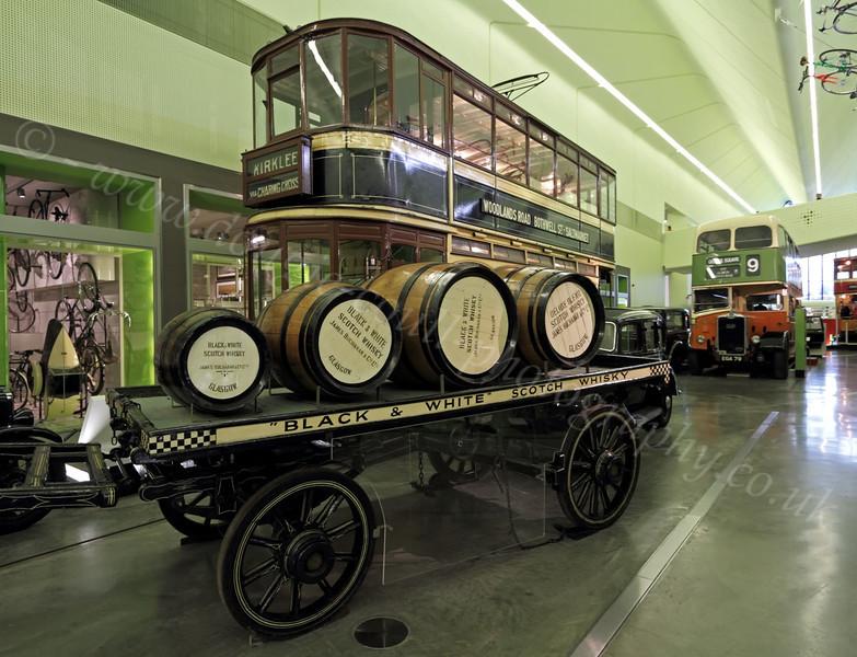 Carts, Trams, and Buses - Riverside Museum - 25 November 2011
