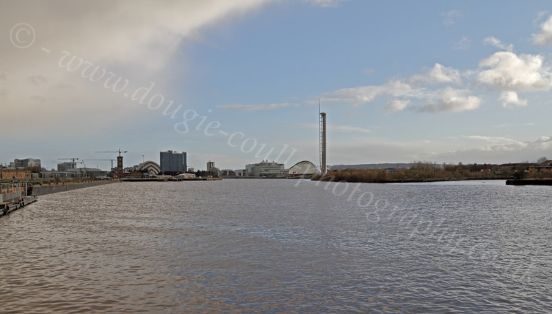 River Clyde View from Riverside Museum - 25 November 2011