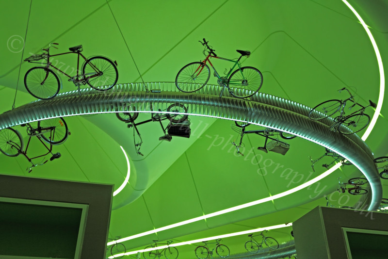 Cycles in the Sky - Riverside Museum - 25 November 2011