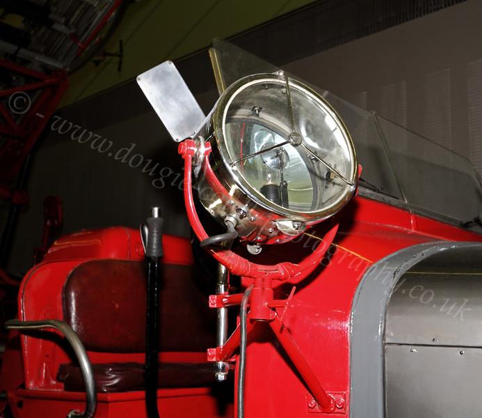 Fire Tender Searchlight - Riverside Museum - 25 November 2011