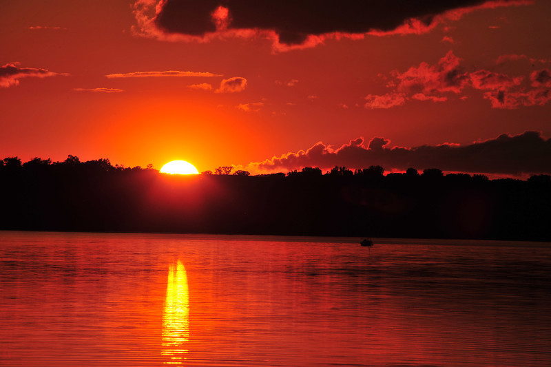 Sunset on Big Stone Lake
