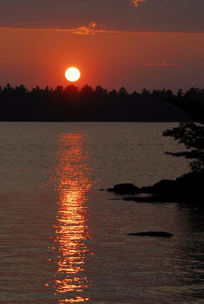 Voyageurs National Park sunset - 01