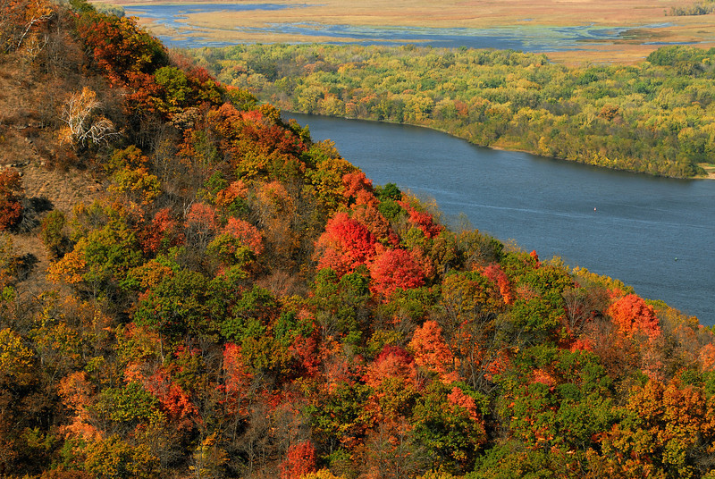 Mississippi River - South of Winona, MN