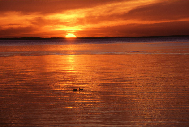 Sunset on Mille Lacs