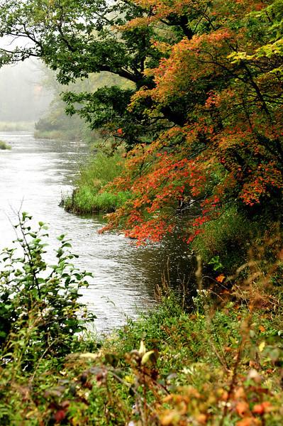 Rum River fall mist