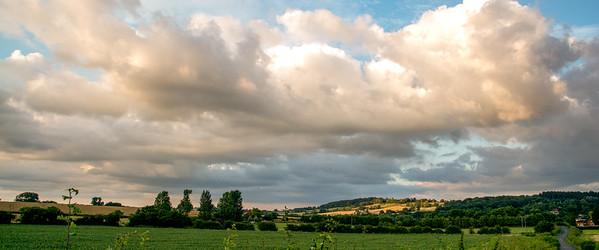 Sunset over Alvechurch
