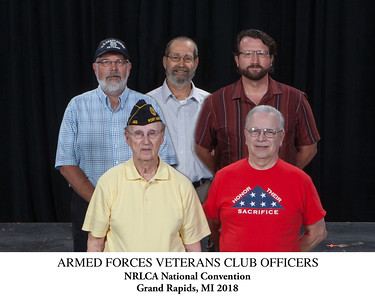 Armed Forces Club Officers Titled