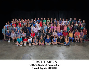First Timers' Group Photo Titled