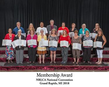 Membership Award Titled