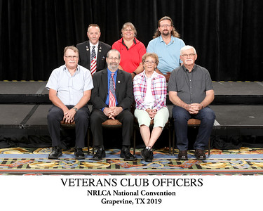 101 Armed Forces Veterans Club Officers Titled