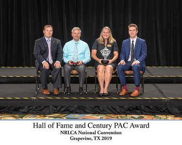 101 Hall of Fame and Century PAC Award Titled