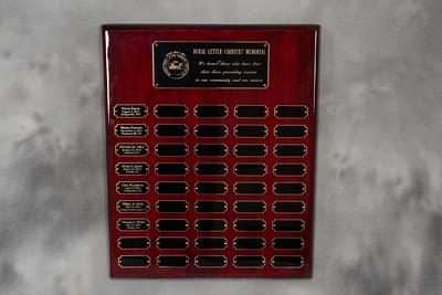 NRLCA Memorial Plaque 143214