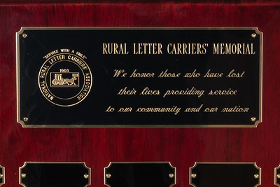 NRLCA Memorial Plaque 143231