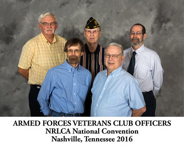 Armed Forces Veterans Club Officers - TITLED
