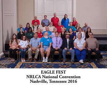 101 Eagle Fest Group Photo Titled